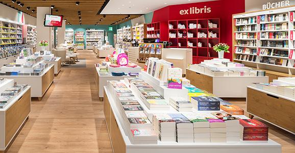 Neue Ex Libris-Filiale im Glattzentrum
