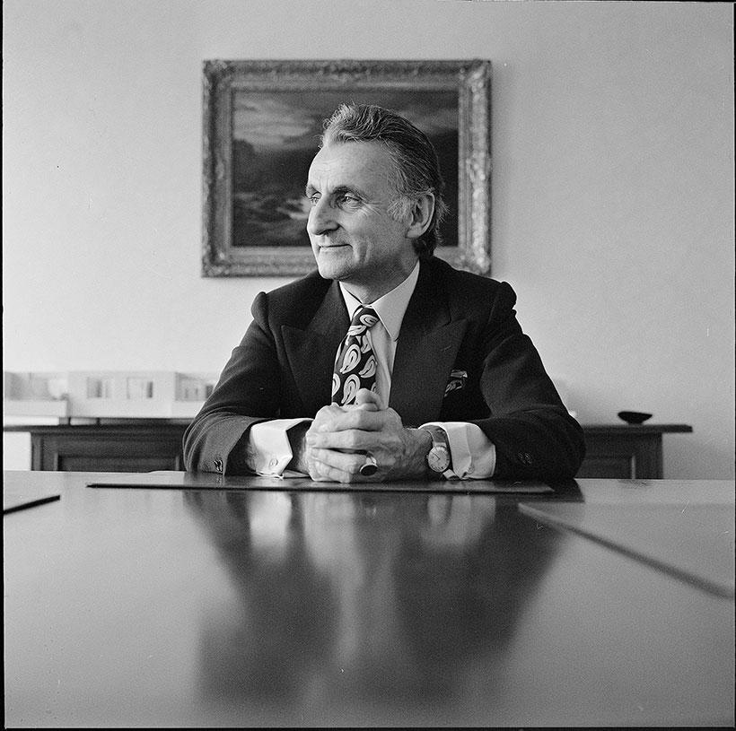 Karl Schweri Denner Portät