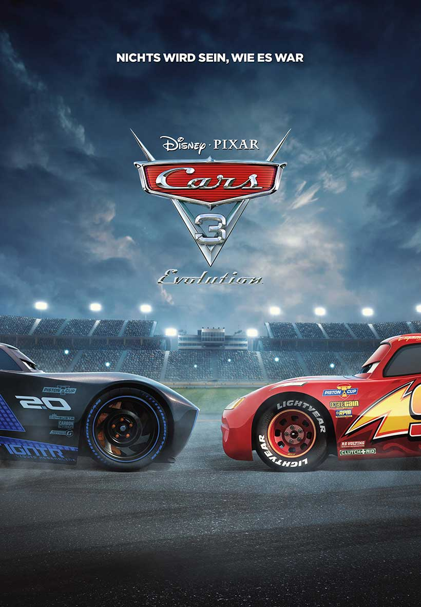 Cars 3: Evolution!