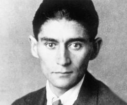 Franz Kafka Porträt schwarz-weiss