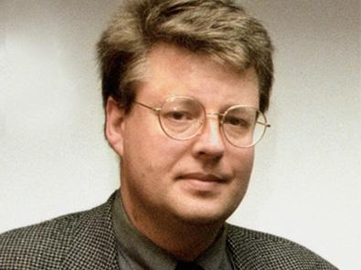 Stieg Larsson Porträt