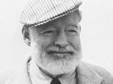 Ernest Hemingway Porträt