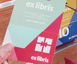 Geschenkkarte Ex Libris