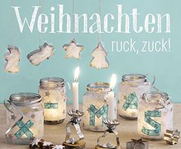 Weihnachten ruck, zuck! Bastelbuch
