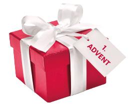 1. Advent Geschenkspäckchen