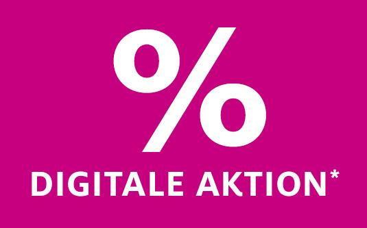 % Digitale Aktion