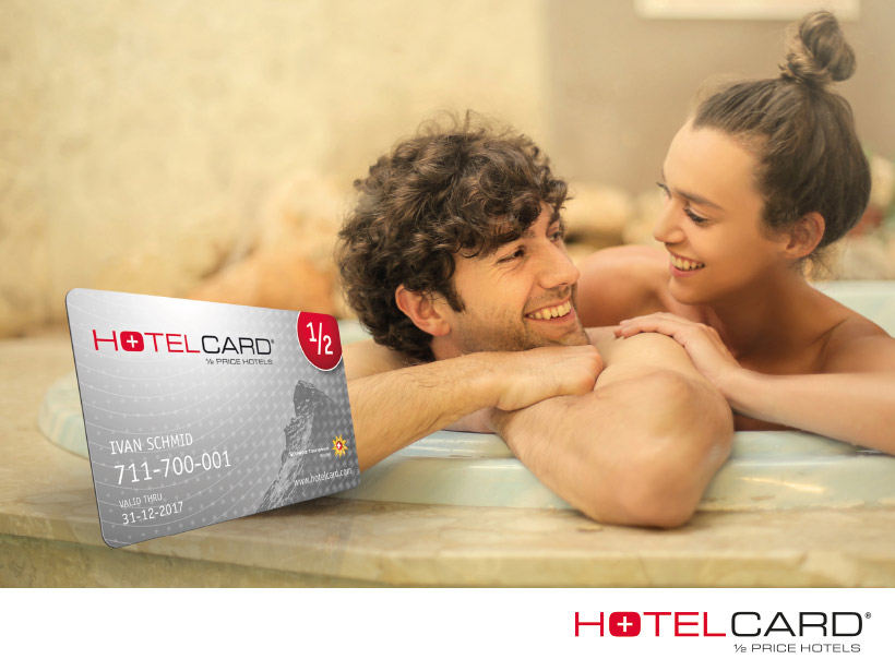 20% Club-Rabatt auf Hotelcard