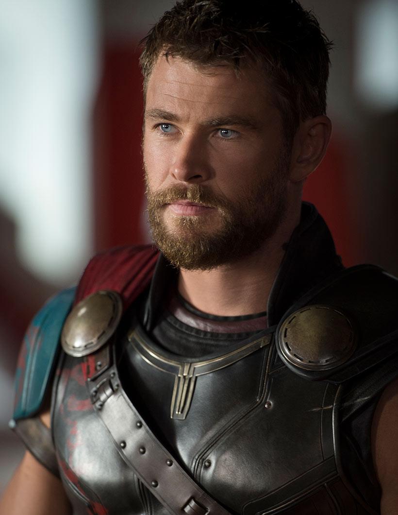 Chis Hemsworth als Donnergott in «Thor: Tag der Entscheidung»