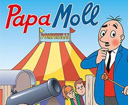 Papa Moll Zirkus Kanone