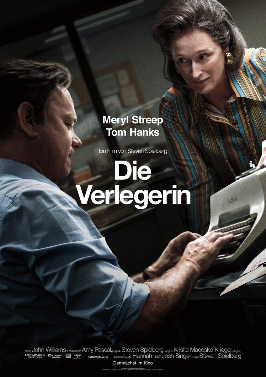 Die Verlegerin – das Filmplakat