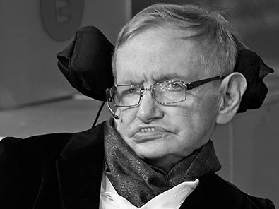 Stephen Hawking Porträt