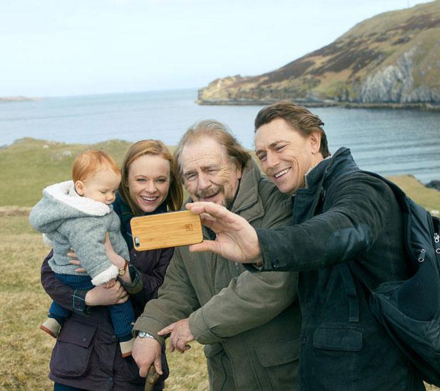 Rory MacNeil und seine Familie