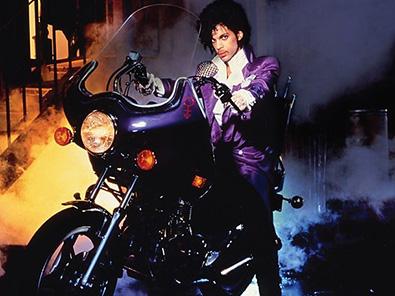 Prince im Film Purple Rain