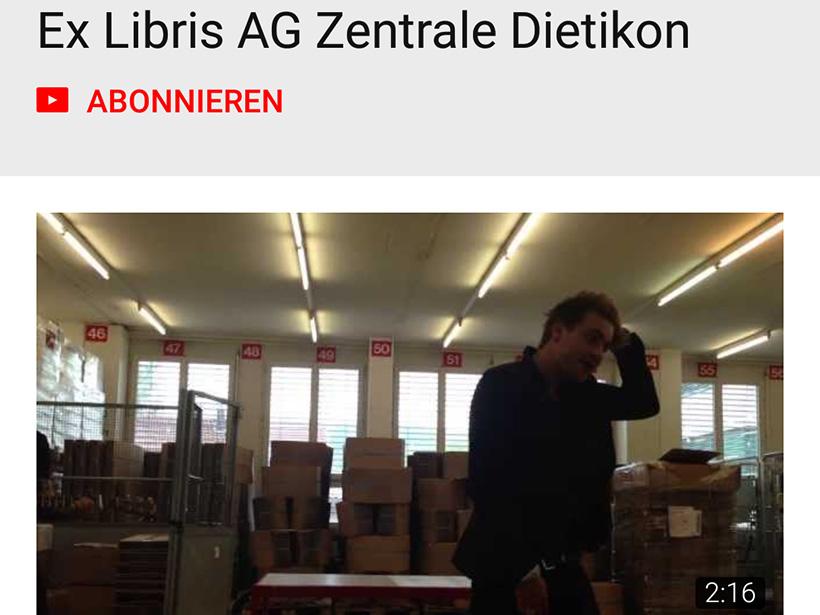 YouTube-Kanal von Ex Libris