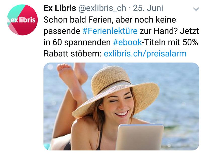 Twitter-Account von Ex Libris