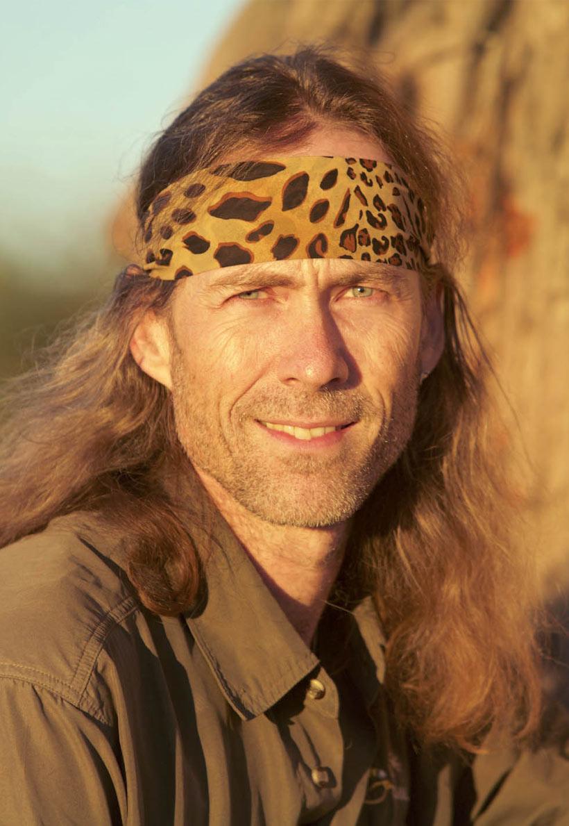 Der «Gepardenmann» Matto Barfuss