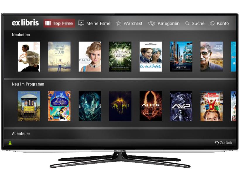 Samsung und LG Smart TV-App