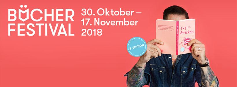 Bücherfestival 30. Oktober – 17. November 2018