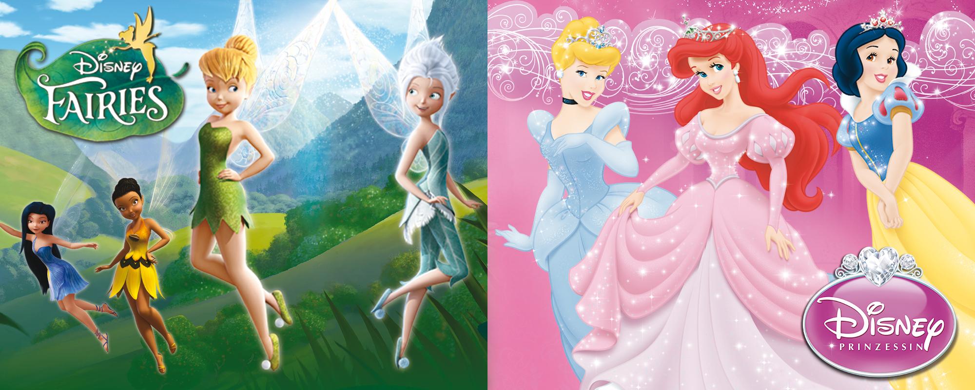 Disney Prinzessinnen & Disney Feen