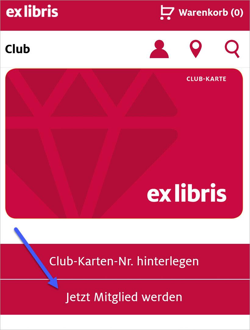 Ex Libris Club-Mitgliedschaft online kaufen