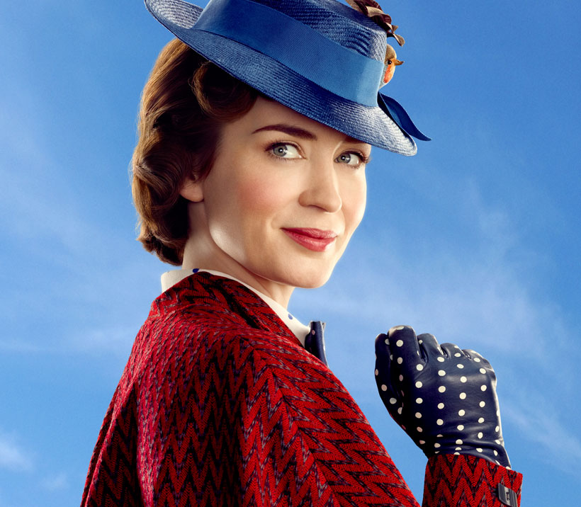 Emily Blunt als Mary Poppins / © Disney