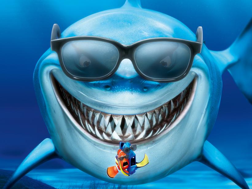 Findet Nemo-Malbogen