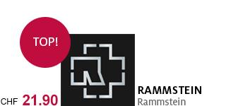 Rammsteins neues Album mit dem gleichnamigen Titel portofrei bestellen