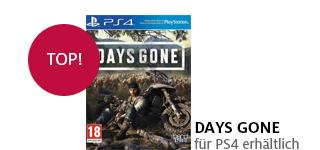 «Days Gone» für PS4 portofrei bestellen.