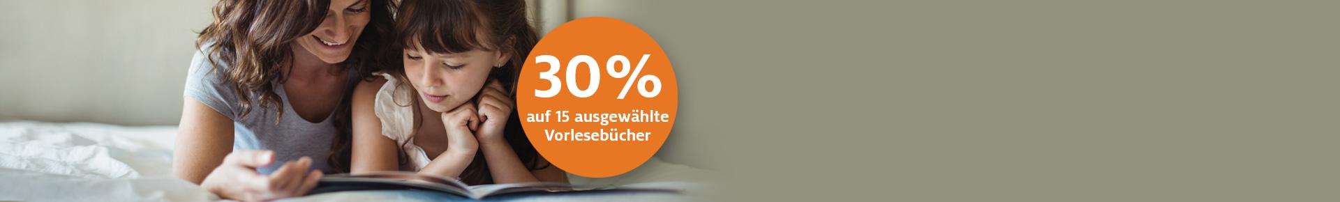 Aktion: 30% Rabatt auf 15 Vorlesebücher