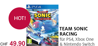 «Team Sonic Racing» für PS4, Xbox One & Nintendo Switch portofrei bestellen.