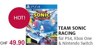 «Team Sonic Racing» für PS4, Xbox One & Nintendo Switch portofrei bestellen.