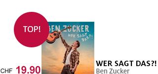 Das neue Album von Ben Zucker jetzt portofrei bestellen.