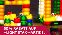 50% auf ausgewählte «LIGHT STAX»-Sets