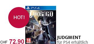 «Judgment» jetzt portofrei für die PS4 bestellen.