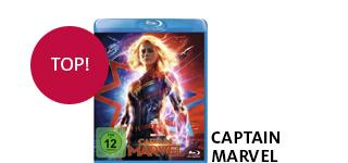 «Captain Marvel» portofrei bestellen.
