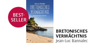 Jean-Luc Bannalecs neuer Roman «Bretonisches Vermächtnis» portofrei bestellen.