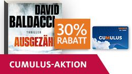 «Ausgezählt» von David Baldacci mit 30% Rabatt dank Cumulus