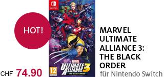 «Marvel Ultimate Alliance 3» jetzt portofrei für Nintendo Switch bestellen.