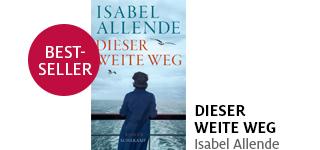 Isabel Allendes neuer Roman «Dieser weite Weg» portofrei bestellen.