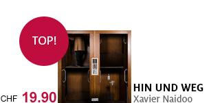 Xavier Naidoos neues Album «Hin und weg» jetzt portofrei bestellen.