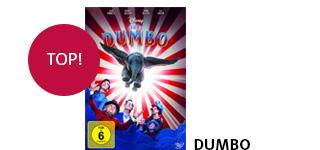 Den Disney-Klassiker «Dumbo» portofrei bestellen.