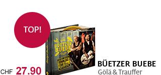 «Büetzer Buebe» – das neue Album von Gölä & Trauffer jetzt portofrei bestellen.