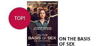 Das Film-Highlight «On The Basis of Sex» portofrei bestellen.
