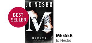 Jo Nesbos neuer Thriller «Messer» portofrei bestellen.