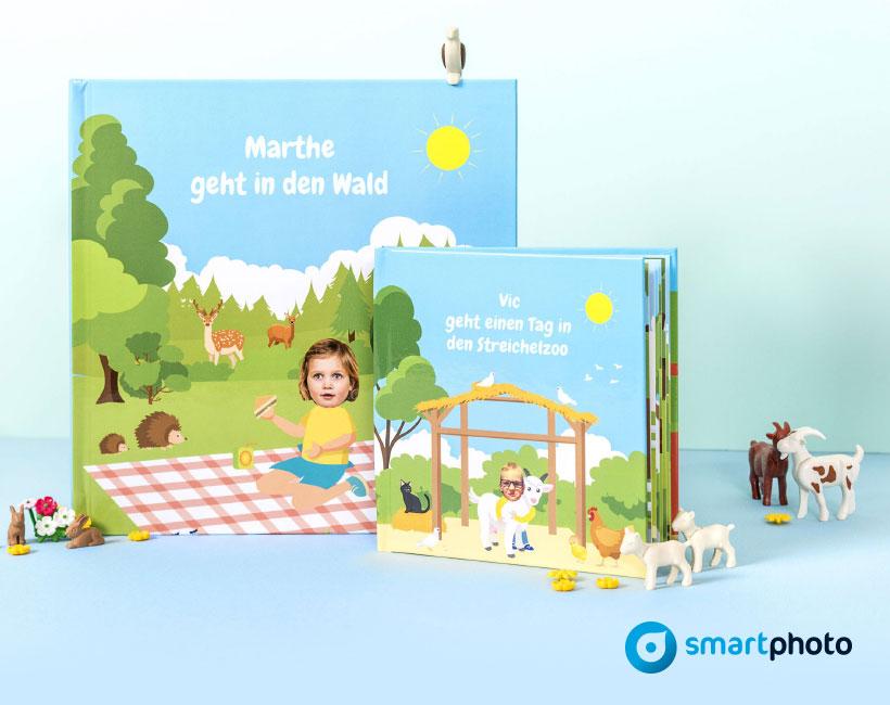 20% auf personalisierte Kinderbücher von Smartphoto