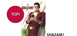 Das Superheldenfilm-Highlight «Shazam!» portofrei bestellen.