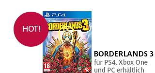 «Borderlands 3» jetzt portofrei für die PS4, Xbox One & PC bestellen.