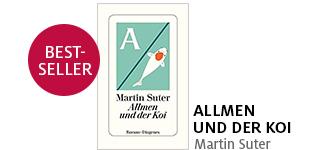 Martin Suters neuer Krimi «Allmen und der Koi» portofrei bestellen.
