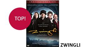 Das Schweizer Film-Highlight «Zwingli» portofrei bestellen.