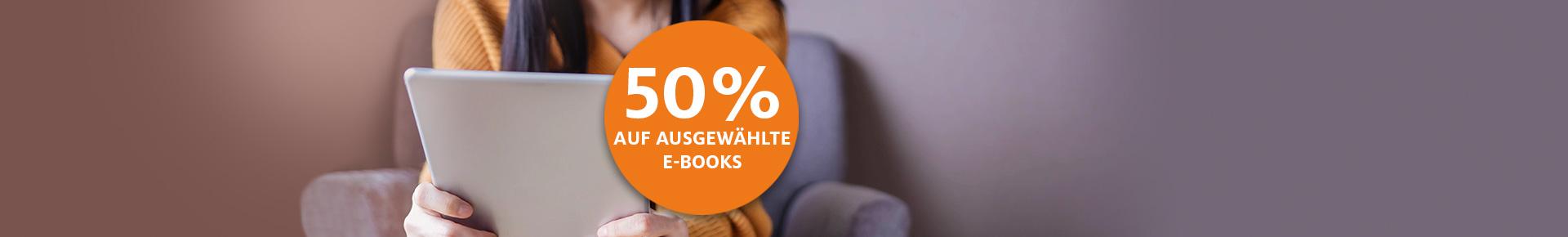50% Rabatt auf ausgewählte E-Books